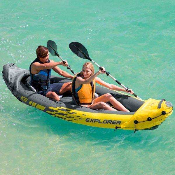 Kayak y barcas marca Intex